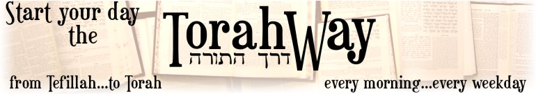 Start Your Day The Torah Way